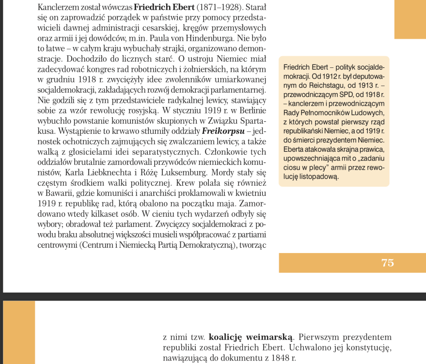 Fragment podręcznika: K. Ruchniewicz, J. Tyszkiewicz, Historia 3...